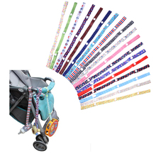 60cm Baby Stroller Rope Accessories Strap Belt for Prams Baby Carrages Rope Teethers Pacifiers Cups Anti-lost Strap