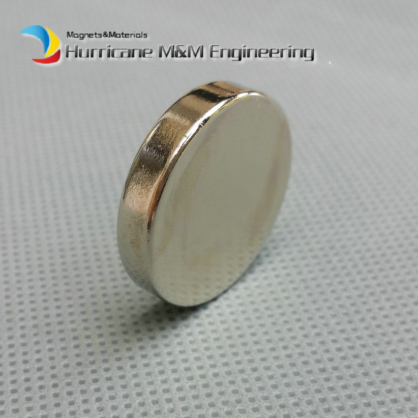1 pack Diameter 25x5 mm Jelwery magnet NdFeB Disc Magnet Neodymium Permanent Magnets Grade N35 NiCuNi Plated Axially Magnetized<br>