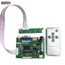 7inch 50pin AT070TN90/92/94 LCD driver board for car with remote control + key board car back off projection