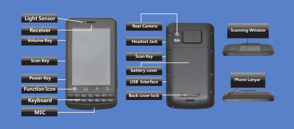 Android barcode PDA