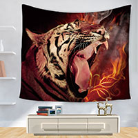 Tiger-Tapestry-Polyester-Printed-Southeast-Asia-Wall-Decoration-Home-Hanging-Mandala-Toalla-Playa-Bohemian-Decor-Hippie