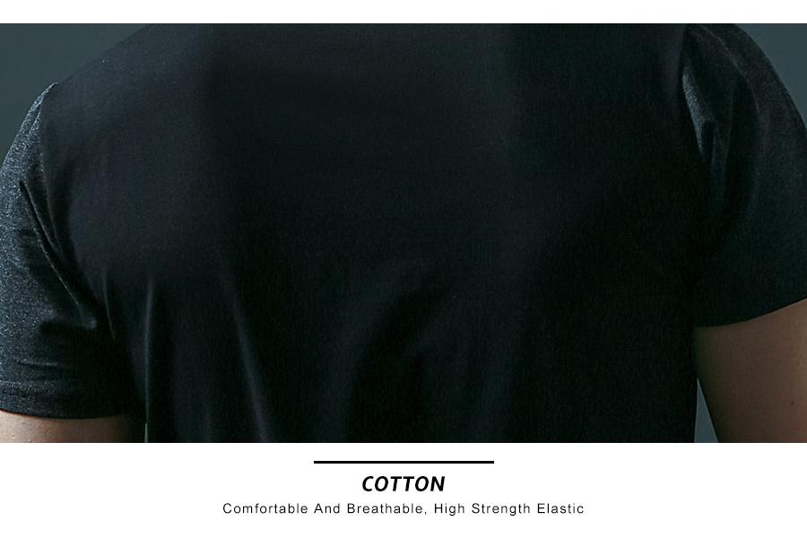 6 Designs Mens T Shirt Slim Fit Crew Neck T-shirt Men Short Sleeve Shirt Casual tshirt Tee Tops Mens Short Shirt Size M-5XL 18