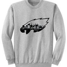 Add to Wish List. Philadelphia Skyline Eagles Logo Sweatshirt Hoodie Men  Women Autumn Crewneck Sweatshirts Casual Long Sleeve Pullover cmt d6843f097