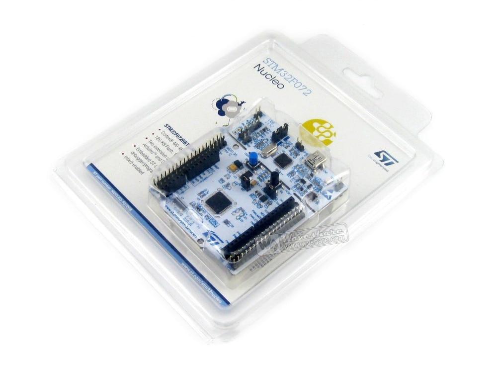 Modules STM32 Board Nucleo NUCLEO-F072RB STM32F072RBT6 STM32 Development Board Integrate ST-LINK/V2-1 Debugger/Programmer<br><br>Aliexpress