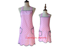 Mother and Daughter Apron Women Kids Simple Lovely Cotton Kitchen Apron Cooking Mommy and Me Apron Avental de Cozinha Divertido