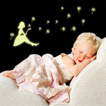 Wall Decals Glow In The Dark Room Color Stars Luminous Fluorescent Wall Stickers for Kids Rooms Home Decor Chrismas gift