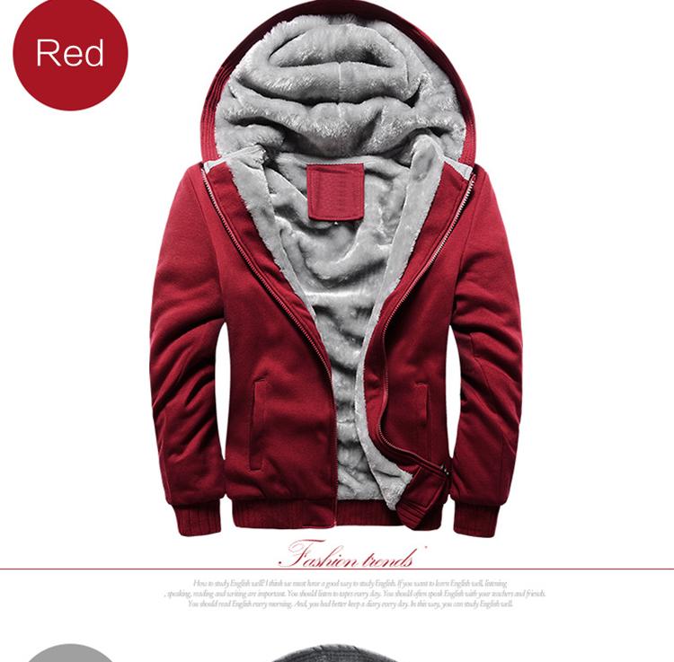 Hoodies Sweatshirt Men 17 New Autumn Winter Warm Thick Solid Casual Brand Tracksuit Men's Sweatshirts Hooded Plus Size 5XL 4