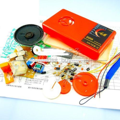 HX108-2 seven-tube input and output superheterodyne AM radio Receiver diy kit<br><br>Aliexpress