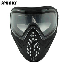 Army Military Full Face Mask Anti Fog Paintball Mask with DYE I4 Thermal Lens(China)