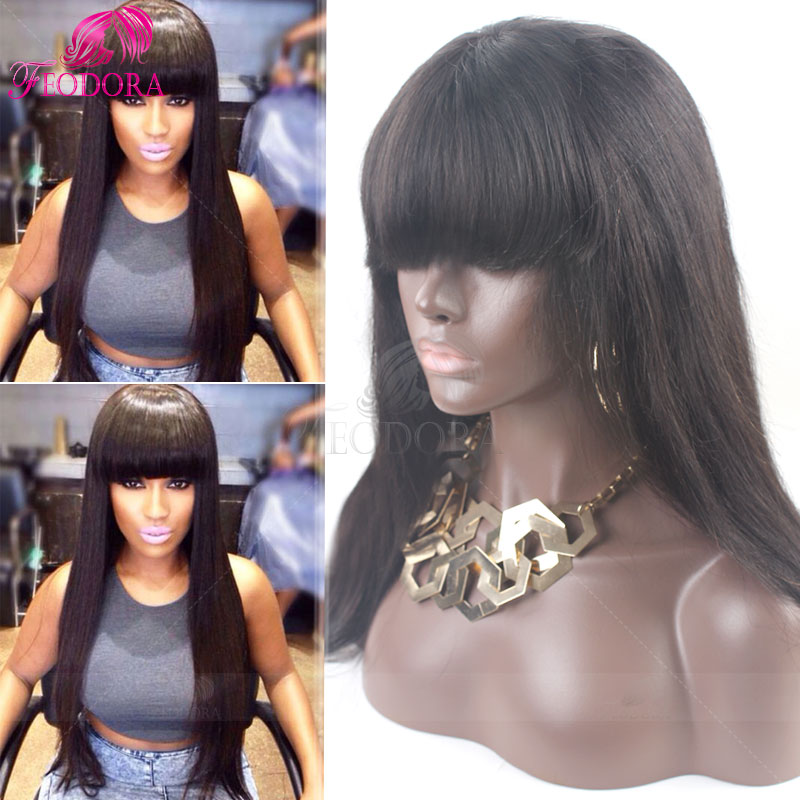 Lace Front Human Hair Wigs Peruvian Virgin Hair Glueless Full Lace Human Hair Wig Front Lace Wigs Straight For Black Women SALE<br><br>Aliexpress