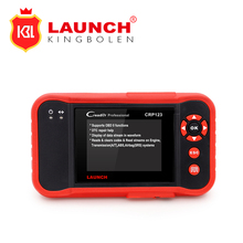 2017 New LAUNCH Creader CRP123 Code Scanner Orignal Support for Multi Brand Car Diagnostic Tool CRP 123 Reader 7+ Car Scan Tool