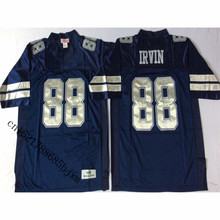 Mens 1994 Retro Michael Irvin Stitched Name&Number Throwback Football Jersey Size M-3XL(China)