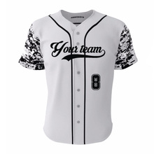 High Quality Brand Black Camo Baseball & Sothball Jersey Customized Mens/ Women Quick Dry Baseball Shirts Jerseys Team Wear