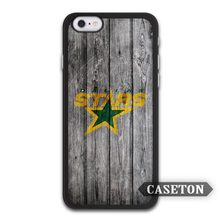 Dallas Stars Hockey Case For iPhone 7 6 6s Plus 5 5s SE 5c 4 4s and For iPod 5