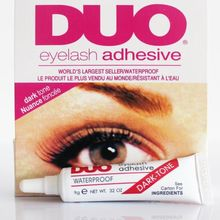 False Eyelash glue DUO anti-sensitive hypoallergenic Makeup Waterproof Adhesive Eyelashes glue (black glue) wholesale