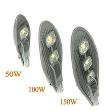 10pcs COB 50W 100W 150W Led Street Light Waterproof IP65 AC85-265V Industrial Engineering Outdoor lighting Road lamp(China)