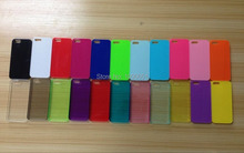 2D Sublimation cell phone cases for iPhone 5s cover with white metal insert sheet i5 cases 100pcs/Lot(China)
