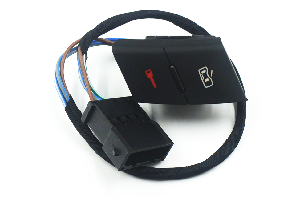 Perilla De Espejo De Puerta Eléctrica Interruptor De La Unidad De Control Para Audi A6 1997-2005 4B C5