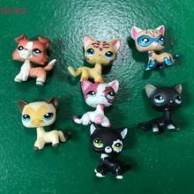 5cm Lovely Collection LPS Action Figure 2291 SPARKLE PINK & WHITE Cat With Opp Bag