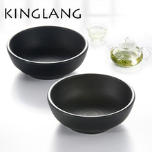 anti-broken high quality 1pc Colored Plastic Dish Japanese Sushi Dish Wind Seasoning Sauce Dishes Snack Dish Rice Bowl for kids(China)