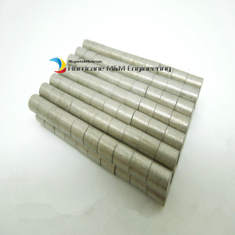 1 pack SmCo Magnet Disc Diameter 3x5 mm Cylinder Grade YXG24H 350 Degree C High Temperature Permanent Magnets Rare Earth Magnets<br>