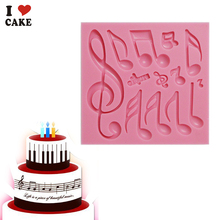 Beautiful And Classics Different Music Note Shape Silicone Fondant Cake Lace Mold Cake Mould, Bake Ware FA856