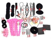 2015 New Hair Band Hair Comb Hairpin Rubber Band Device Hair Styling Tools Accessories 20 Different Type/Set SV013521