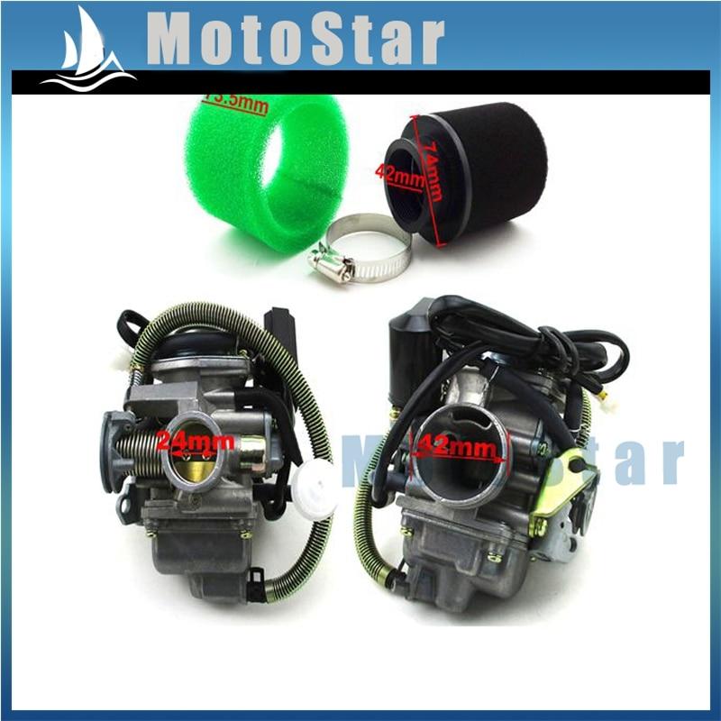 Baja BA150 150cc ATV Rear Clutch Pulley Powerlink Drive Belt /& Gasket