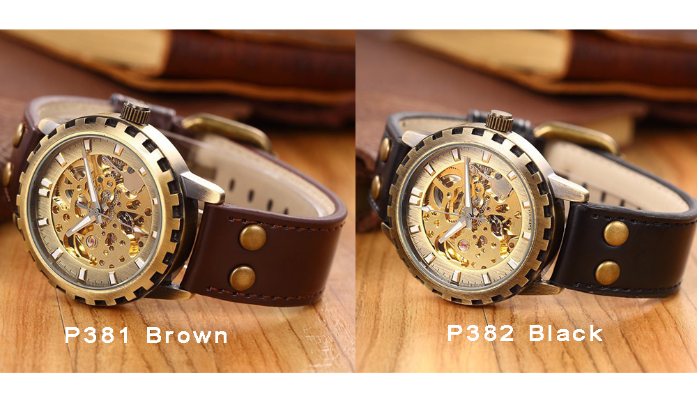 mechanical watch men 381-382