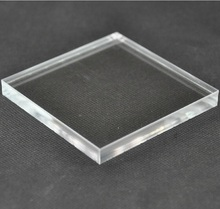 1x100x100mm 10pcs Acrylic Plexiglass Clear Sheet Plastic Transpenr Board Perspex Panel PMMA sheet(China)