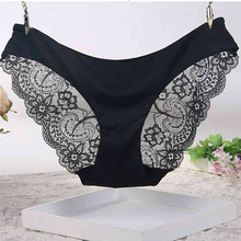 Buy Underwear Women Summer Style Calcinha Brand Ultra-Thin Sexy Seamless Briefs Lace Panties Ropa Interior Mujer Culotte Femme Thong