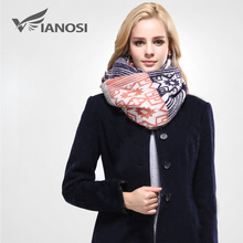 [VIANOSI] European Style Winter Scarf Women Foulard Brand Shawls and Scarves Best Quality Cotton Scarf Woman Wraps VA092(China)