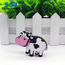 Cow Pen Drive Usb Flash Drive 8GB 16GB 32GB 64GB 4GB memory stick milk animal Pendrive mini lovely gift drive download HOT SALE(China)