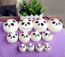 100pcs/Lot Mini Styles Kawaii Squishy Panda Squishy Cell Phone Charm Kawaii Squishies Wholesale Educational Toys For Children