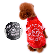 Motorcycle PU Leather Dog Coat Jackets For Puppy Pets Small Animals  B9 XS/S/M/LCats Poodle Chihuahua Red Black Apparel Supplies