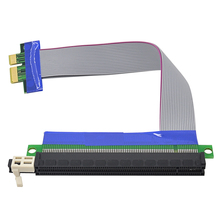 PCI-E pcie 1X to16X Slot Riser Card Extender Ribbon Converter Adapter PCI Express PCI-Express Extension Cable for Bitcoin Miner