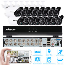 KKMOON 16CH HD 960H DVR Video Surveillance Kits 16PCS 700TVL IR Waterproof Outdoor CCTV Security Cameras Home Security System