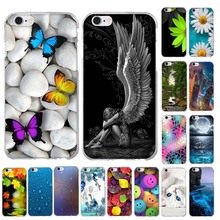 Silicone Cases for iphone 6 6s 7 Phone Case For iPhone 5 5S SE Case 3D Pattern Soft TPU Slim Cover For iPhone 7 6 6S phone Bag