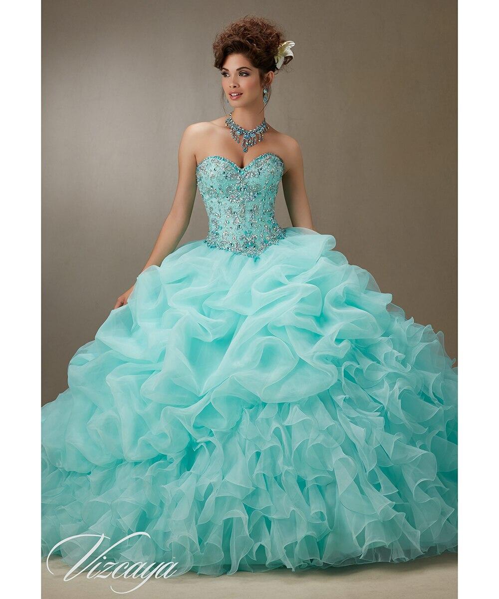Aqua dresses for 15 2017