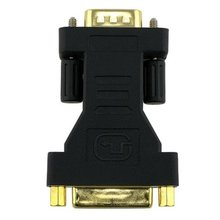 KSOL New DVI female to 15 pin VGA Connector male Adapter(China)