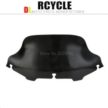 "Blooming smoke 8 ""wave barrier - windshield - Harley Electra Glide For breeze, Street Glide UltraClassic 1996-2013(China)"