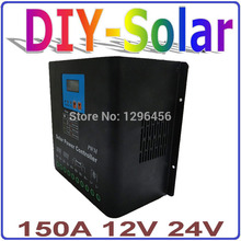 12V 24V PV Solar Panel Battery Charger Regulator 150A Solar Power System Charge Controller Use for solar stsyem(China)