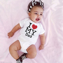 Fashion Baby Clothes White Cotton Baby Rompers Short Sleeve Newborn Baby Clothing Infant Boys Girls Summer Spring Jumpsuits