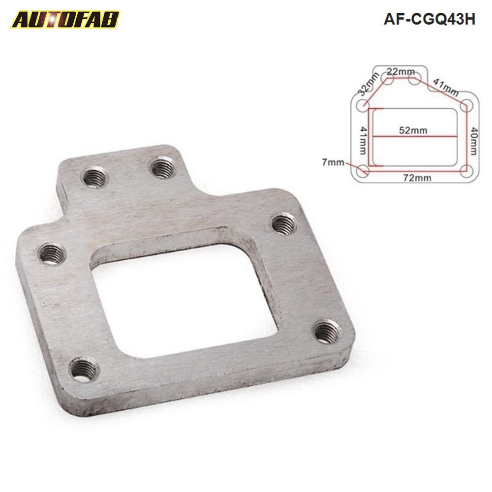 Stainless Steel Turbo/Manifold Flange 4 Bolt For T28,GT28,GT28R,GT28RS For Nissan AF-CGQ43H
