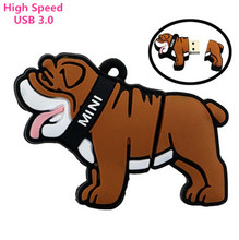 High Speed mini dog USB 3.0 pendrive 8gb 16gb 32gb usb flash drive memory stick pendriver flash drive gift 100% real capacity(China)