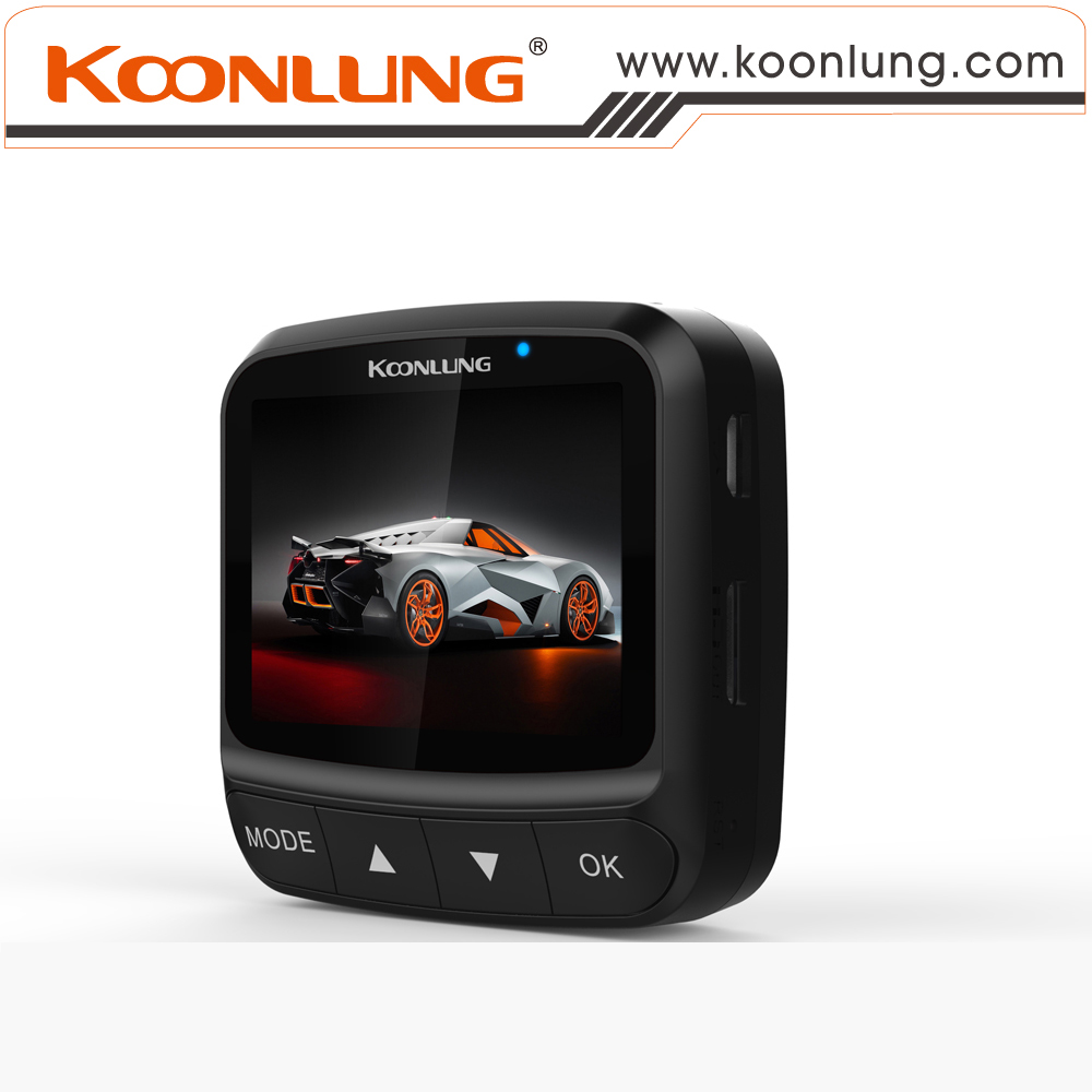 Digital Zoom Car DVR BlackUnit Good Quality 1080P Full HD Single Lens 140 Degree Wide Angle Recorder Night Vision Koonlung A76GW<br><br>Aliexpress