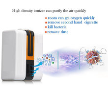 portable negative ion air purifier ionizer ionic with light  Ozonator Air Cleaner Oxygen Bar negative ion purifier 110v--240v