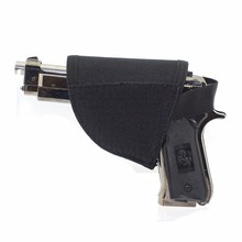 Universal Tactical Holster Safe Hook & Loop Hook Pistol Holster Right Hand  Gun Holster Black