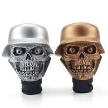 Car Accessories Super Personality Car Modification Gear Shift Knob Devil Head Knob Modified Resin Knob Soldier Skull Shift Knob
