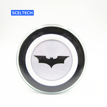SCELTECH Batman Original Qi Wireless Charger Charging Pad for iPhone X 8 8 Plus SAMSUNG S6 S7 S8 edge NOTE5 Nexus 4/5 Lumia 920(China)